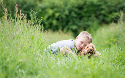 A family photoshoot in Wivlesfield Green, West Sussex