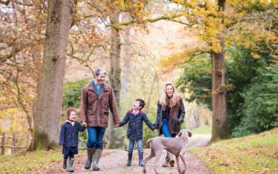 Autumn Family Photoshoot, Haywards Heath