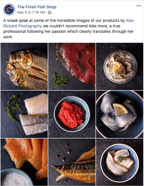 Food Photography review from the Fresh Fish Shop in Haywards Heath