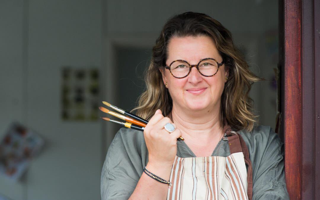 Wallpaper designer Elizabeth Ockford meets Branding Photographer Alex Rickard