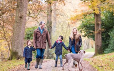Autumn Family Photoshoot – clothing tips