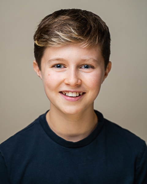 Child headshot of an actor