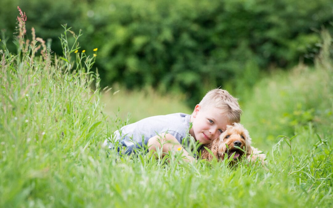 Five reasons why you should include your dog in your family photoshoot